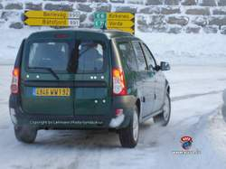 Renault Dacia Logan break back