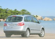Volkswagen Spacefox back